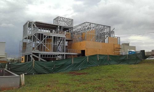 construção em light steel frame