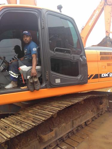 construção escavadeiras maquinaria