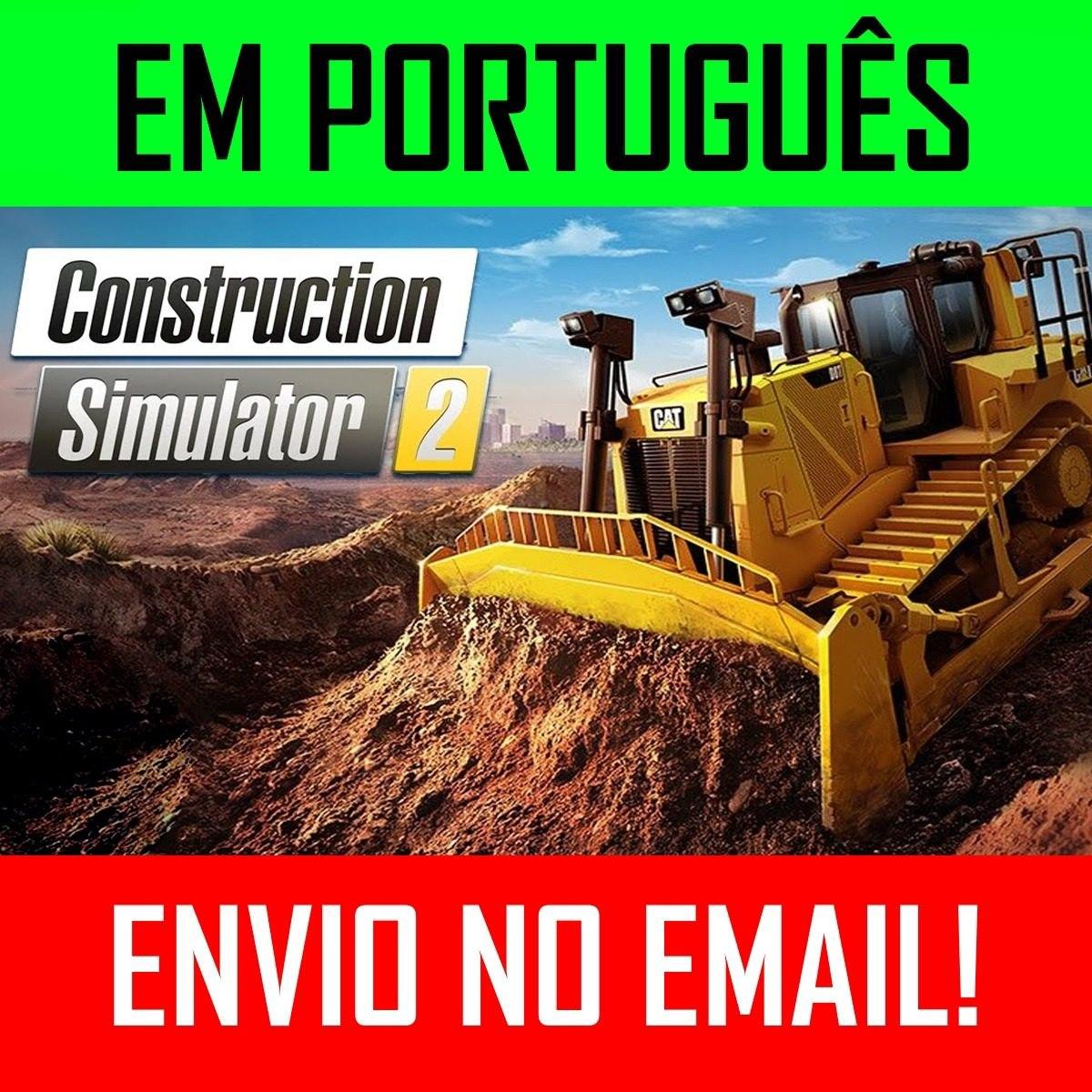 Construction Simulator 2 Pc +2 Games A Escolha