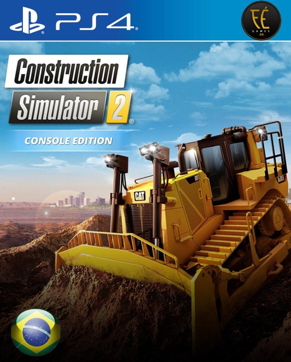 Construction Simulator 2 Us - Console Edition Ps4 Português