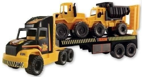 constructor 3 duravit set de camiónes