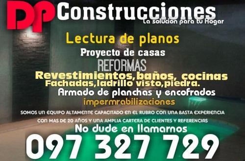 constructor especializado trabajo 100% garantido.