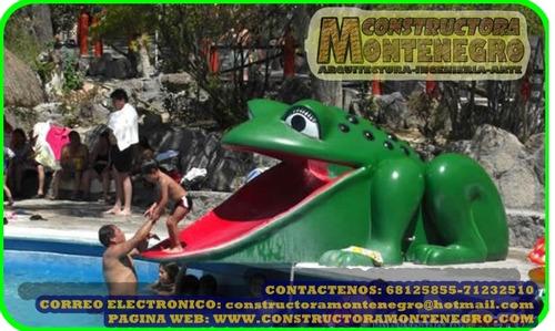 constructora especialista en parques acuaticos bolivia