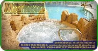 constructora montenegro - parques acuáticos