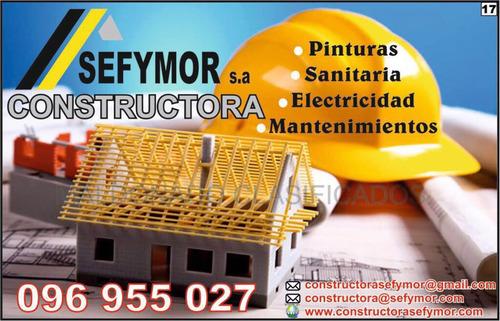 constructora  pintura mantenimiento yeso reformas general