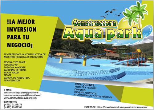 constructores de balnearios acuaticos - obras de ingenieria