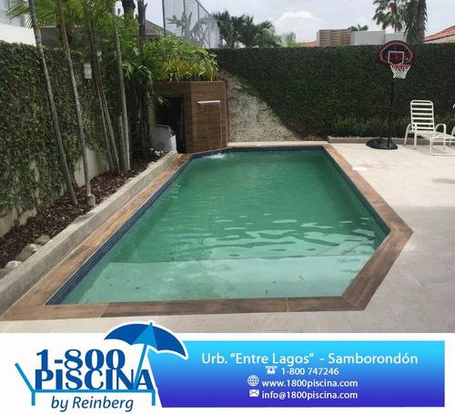 construimos tu propia piscina en casa