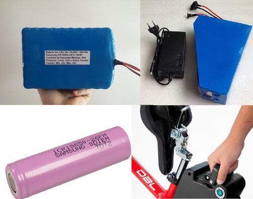 construíndo baterias de lítio - scooters, bike elétrica etc