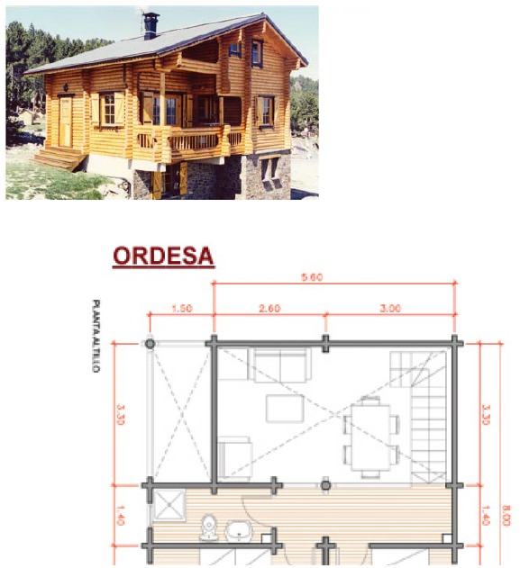Construir casas caba as de madera 139 planos 708 for Paginas para construir casas