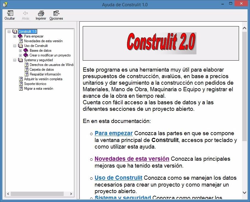 construlit 2 0 software para presupuestos de construcción 250 00