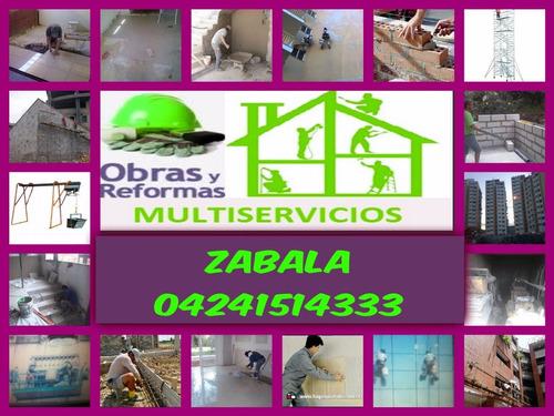 construservicios h.z.b 2017( albañileria,herreria, fachadas)