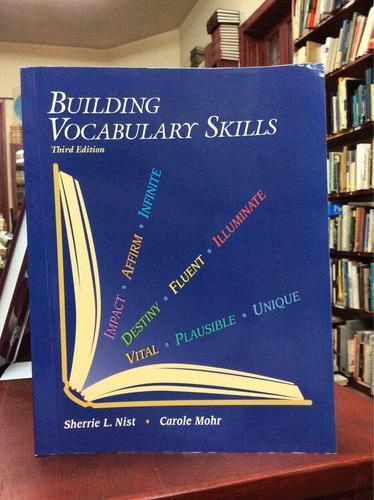 construyendo habilidades de vocabulario en ingles.