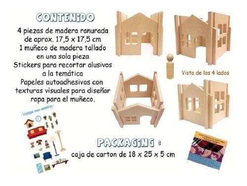 construyendo mi casa - manualidades - armar - creatividad