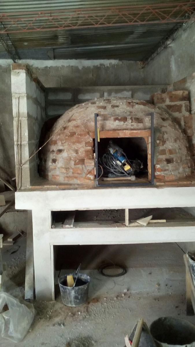 Construyo su estufa parrillero barbacoa u horno a le a - Horno lena prefabricado ...