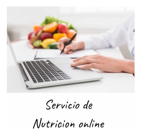 consulta con nutricionista online