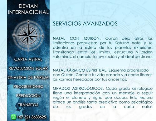 consulta lectura carta astral tarot esoterismo astrología