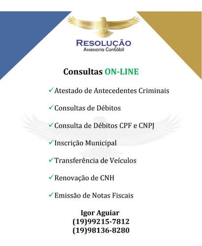 consulta on-line