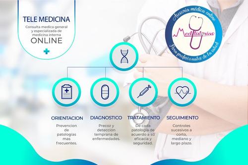 consulta online de medicina interna y medicina general