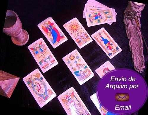 consulta oráculos tarot e runas - envio de arquivo por email