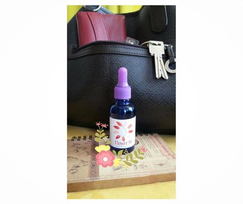 consulta personalizada y frasco flores de bach