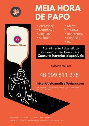 consulta psicanálise clínica - online e presencial