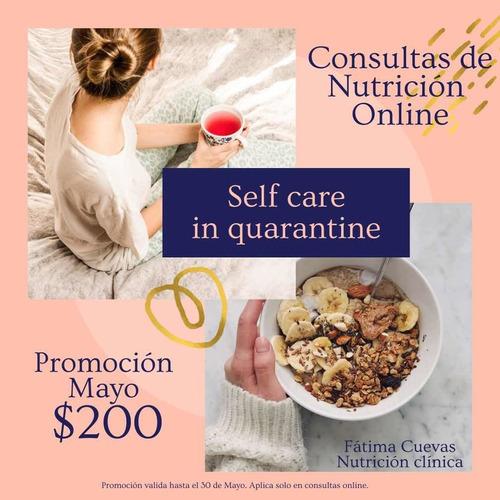 consultas de nutrición online