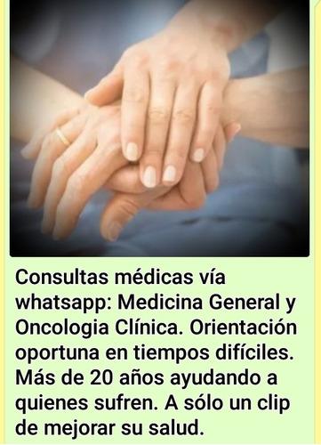 consultas medicina general y oncologia