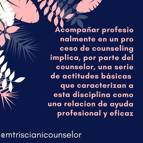 consultora psicologica te ofrezco sesiones de  counseling