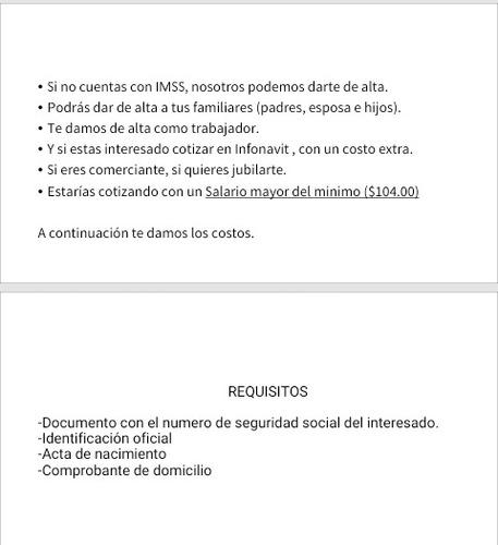 consultores seguro social