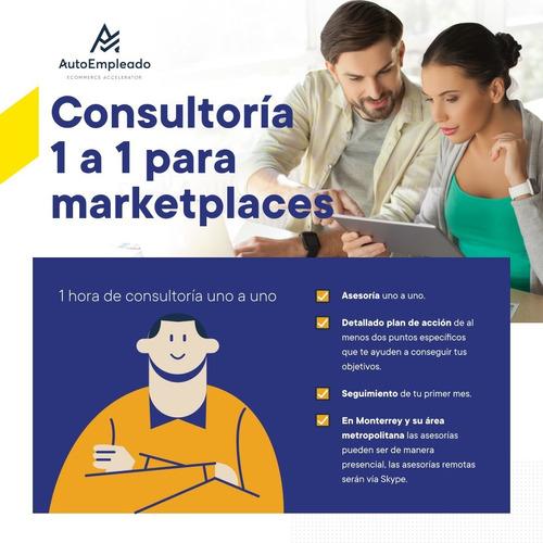 consultoría 1 a 1 para mercadolibre y otras plataformas