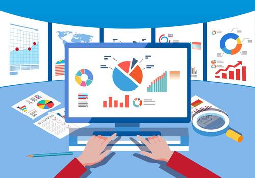 consultoria, criação e análise de indicadores.
