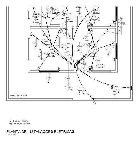 consultoria para projeto elétrico residencial bifásico