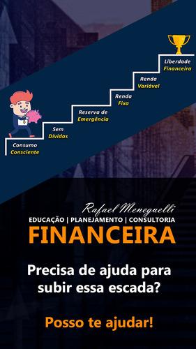 consultoria, planejamento e educação financeira - 1 sessão