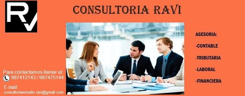consultoria ravi : consultoria contable tributaria y laboral