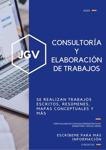 consultorias y elaboración de trabajos