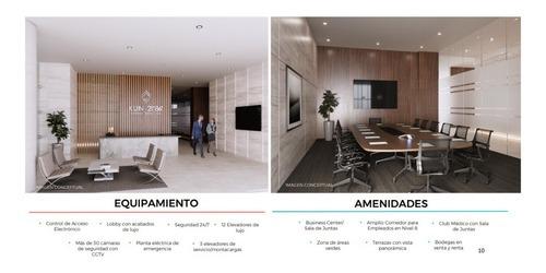 consultorio acondicionado nuevo en renta zona céntrica de cancún. mod. c-0914