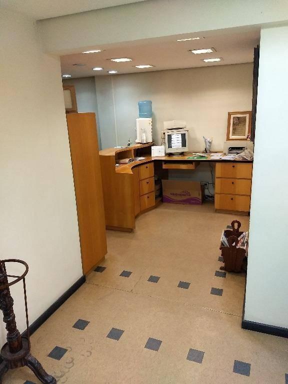 consultório dentista à venda, 94 m² (junção de 3 salas) no centro de são caetano do sul. - sa0018