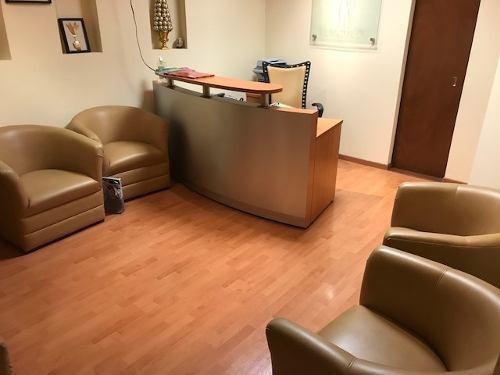 consultorio en renta amueblado edificio aspen, col. los doctores cerca de valle, excelente ubicacion