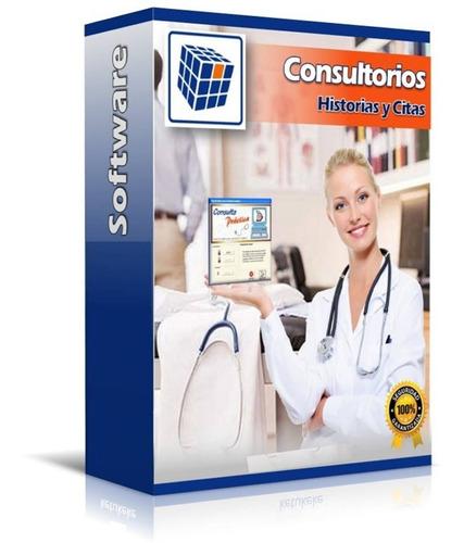 consultorios historias expedientes citas médicos software!!!