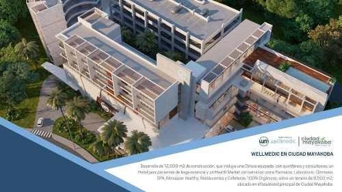 consultorios y oficinas en centro de salud para el turismo, playa del carmen