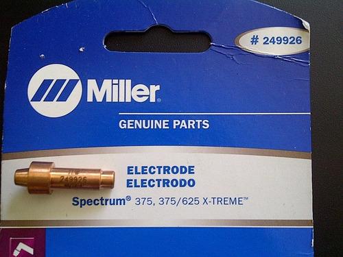 consumible miller electrodo 249926 maquina corte de plasma
