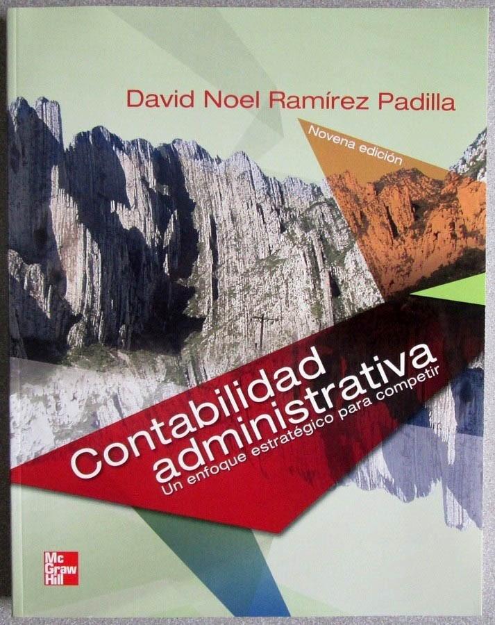 Resultado de imagen para Contabilidad administrativa: un enfoque estratégico para competir. - 9a edición