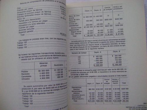 contabilidad de costos - morton backer