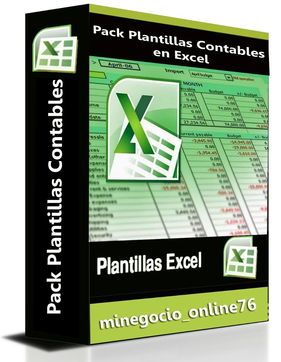 Contabilidad En Excel Plantilla Programada Sistema Contable - Bs ...