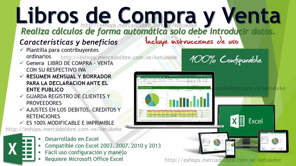 Contabilidad En Excel Plantilla Programada Sistema Contable - $ 117 ...