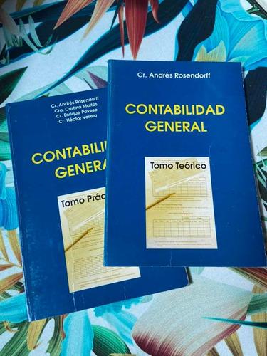 contabilidad general - rosendorff - tomo teórico + práctico