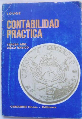 contabilidad practica / louge (1950)