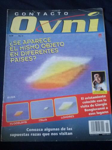 contacto ovni n° julio de 1996