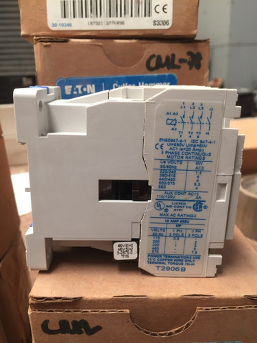 contactor 10 amp eaton ce15bns3cb