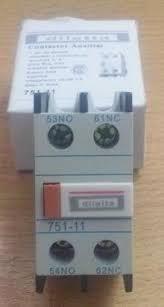 contactor 18a  pack 1x + un aux. 1na + 1nc 220v v diletta q2